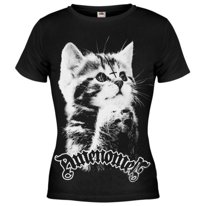 t-shirt hardcore women's - Pure Evil - AMENOMEN