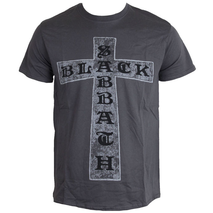 t-shirt metal men's Black Sabbath - Cross - ROCK OFF