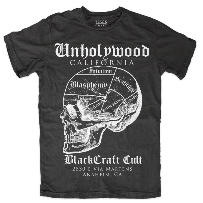 t-shirt men's - Temple - BLACK CRAFT