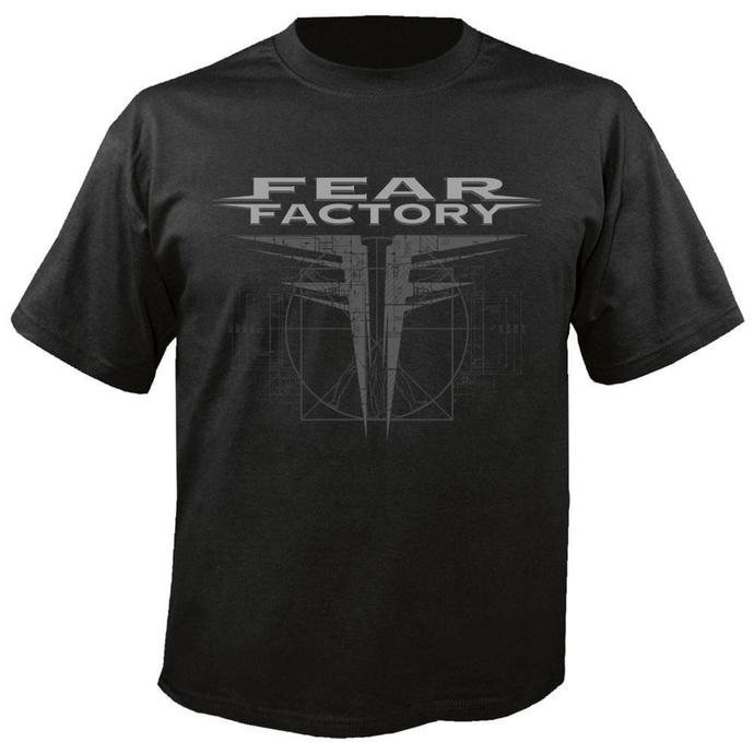 t-shirt metal men's Fear Factory - GNXS - NUCLEAR BLAST