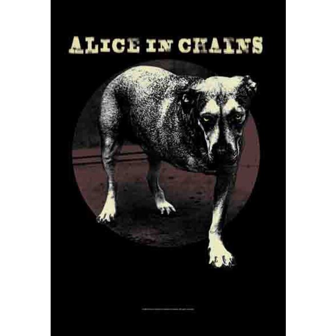 flag Alice In Chains - Grin