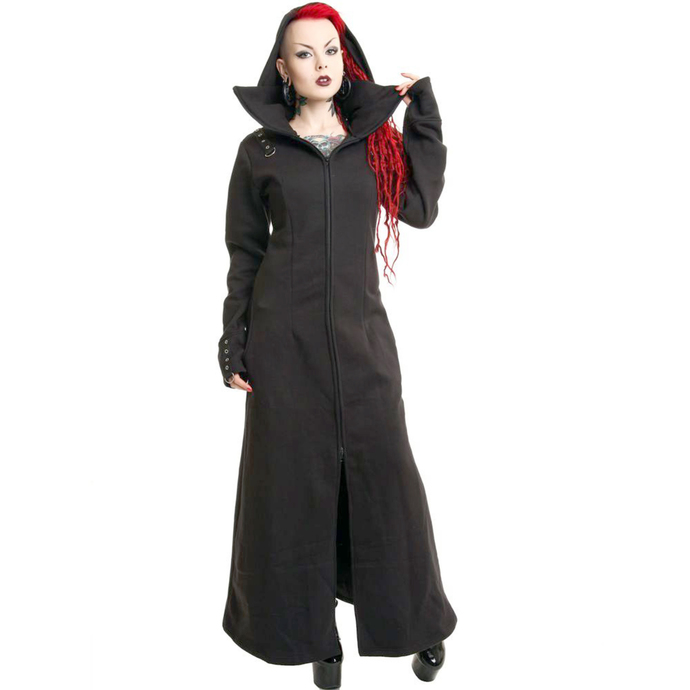coat women's POIZEN INDUSTRIES - Raven