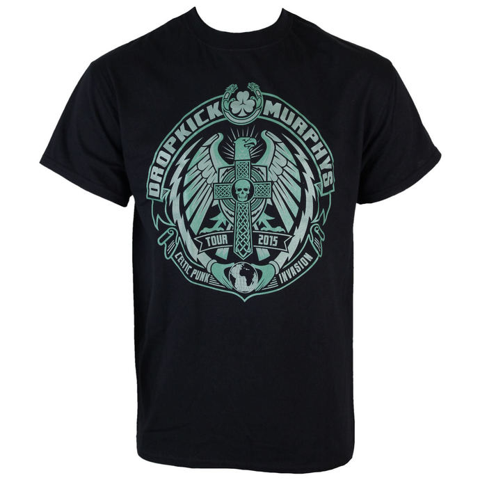 t-shirt metal men's Dropkick Murphys - Celtic Invasion Eagle - KINGS ROAD