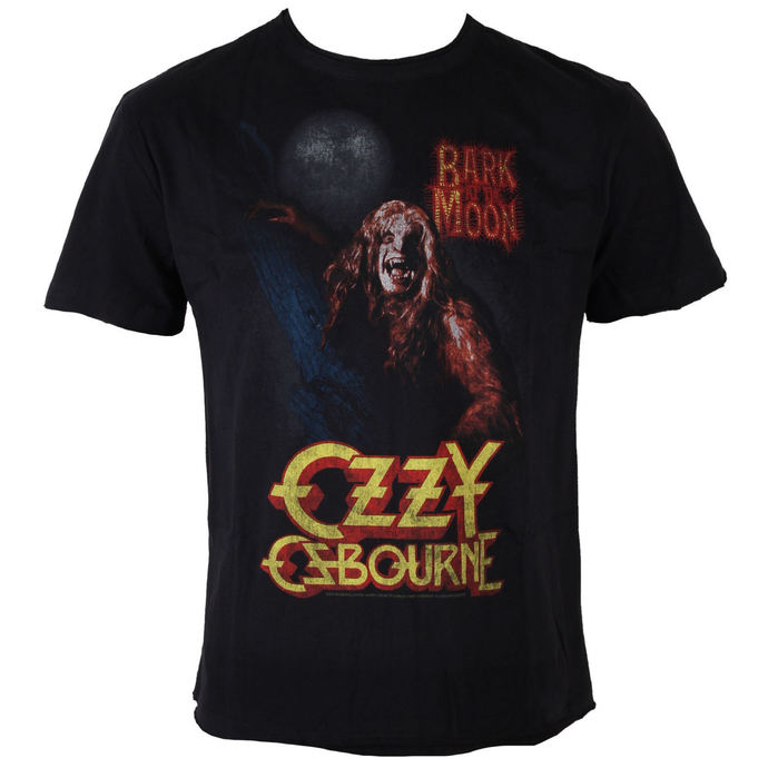 t-shirt metal men's Ozzy Osbourne - Bark At The Moon - AMPLIFIED