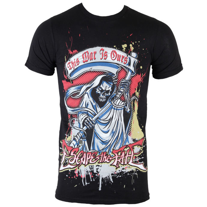 t-shirt metal men's Escape The Fate - Chrome Reaper - BRAVADO