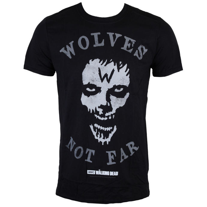 film t-shirt men's The Walking Dead - Wolves Not Far - INDIEGO