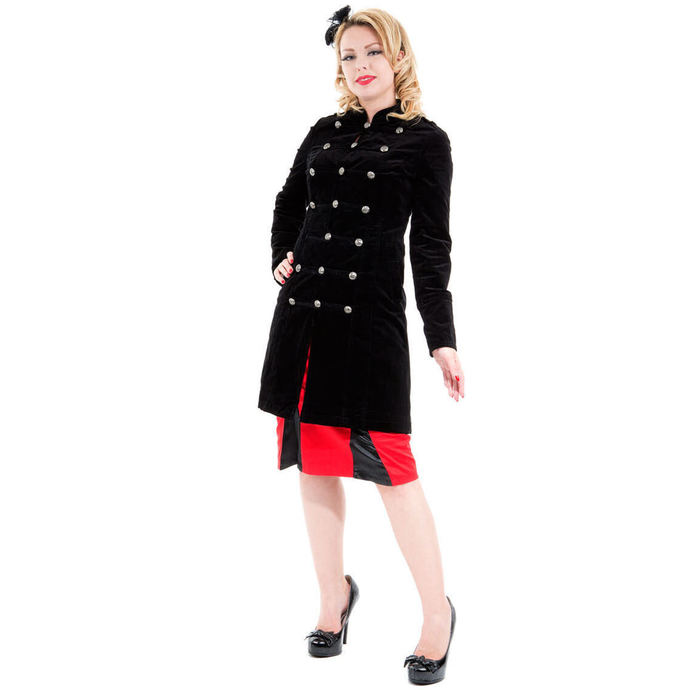 coat women's spring/fall HEARTS AND ROSES - Cyber Rave