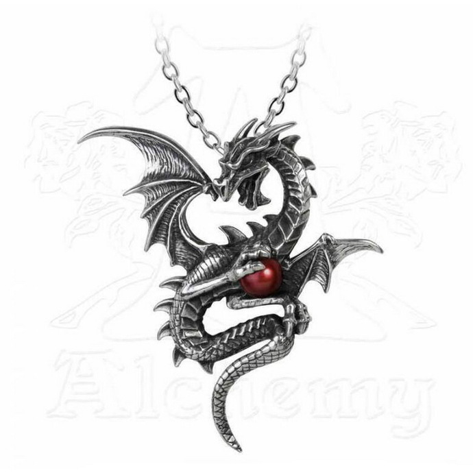 necklace ALCHEMY GOTHIC - aether Draconi