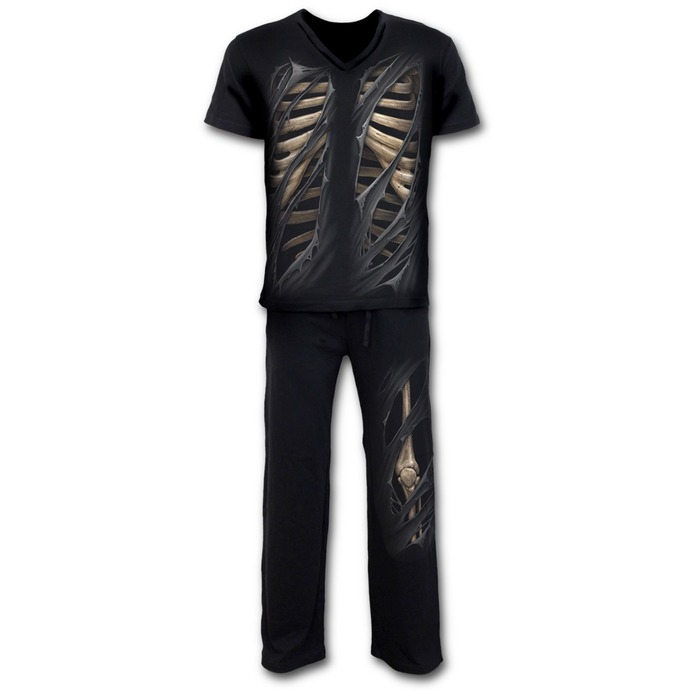 pajama men (set) SPIRAL - Bone Rips