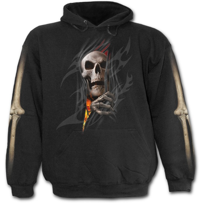 hoodie men's - Death Re-Ripped - SPIRAL