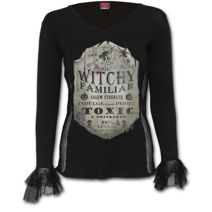 t-shirt women's - Witchy Familiar - SPIRAL