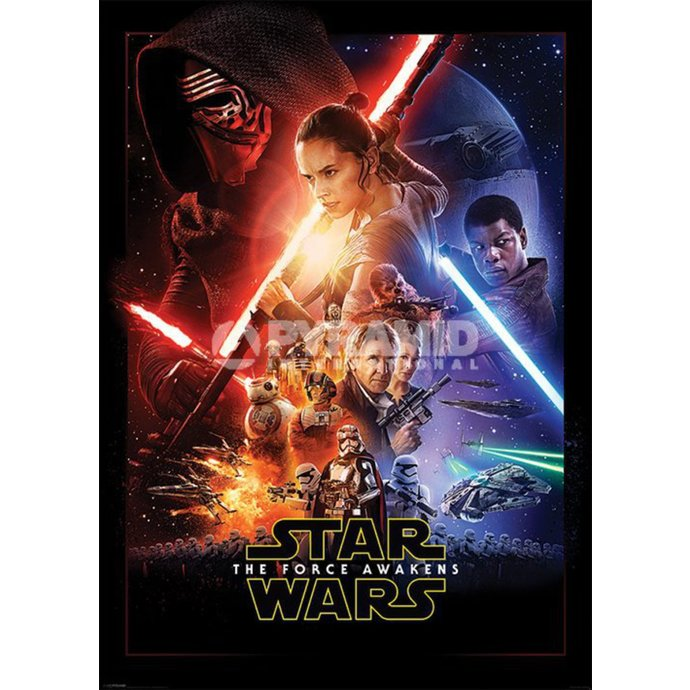 poster Star Wars - Episode VII - One Sheet - PYRAMID POSTERS