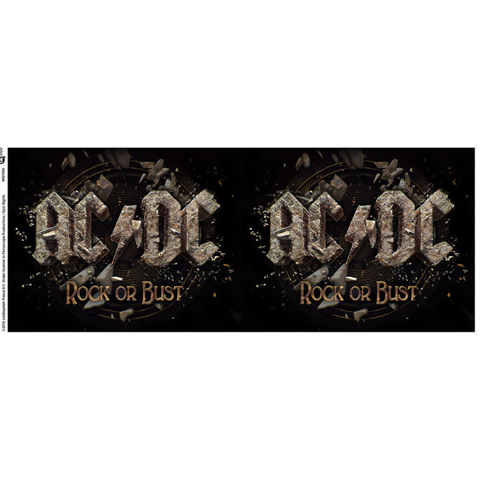 cup AC / DC - Rock or Bust - GB posters