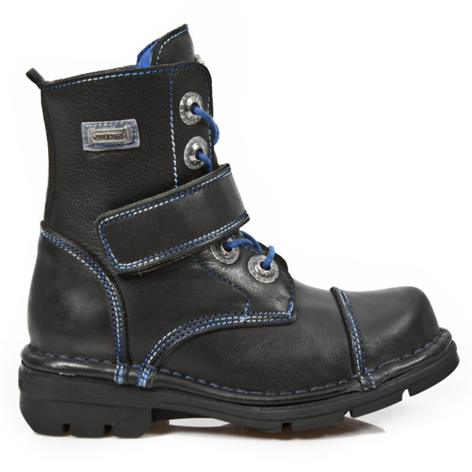 leather boots children's - ROADSTAR NEGRO FOAMIZADO - NEW ROCK
