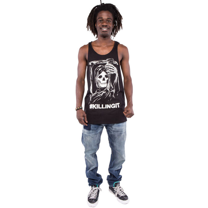 top men IRON FIST - Killingit - Graphic - Black