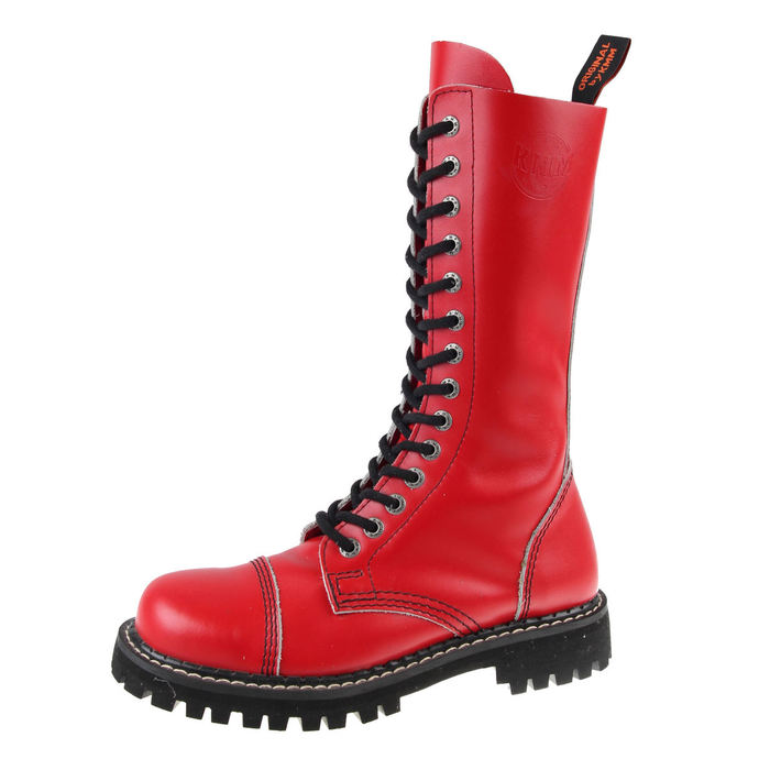 leather boots - Red - KMM