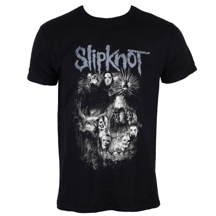 t-shirt metal Slipknot - Skull Group - ROCK OFF