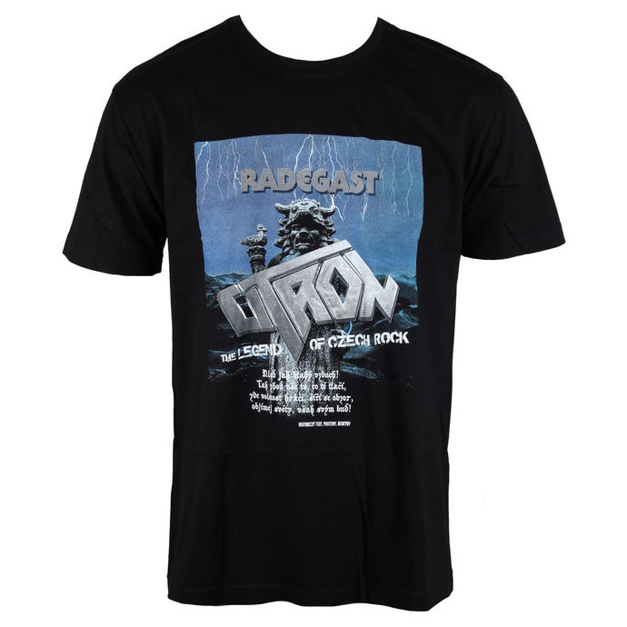 t-shirt metal men's Citron - Radegast - NNM