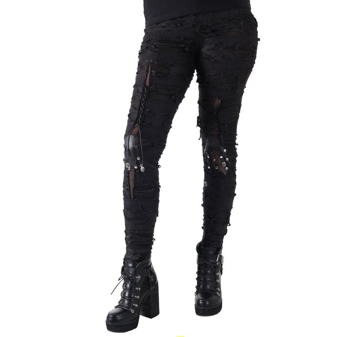 pants women (leggings) Devil Fashion - Gothic Radella
