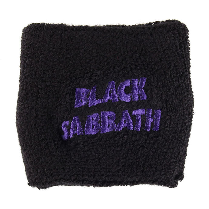 wristband BLACK The SABBATH - PURPLE WAVY LOGO - RAZAMATAZ