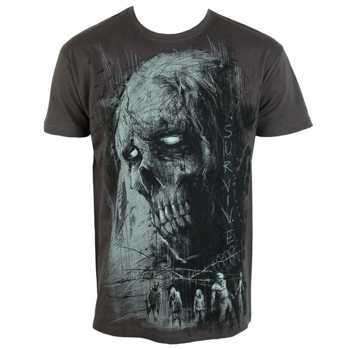t-shirt men's - Zombie Survive - ALISTAR