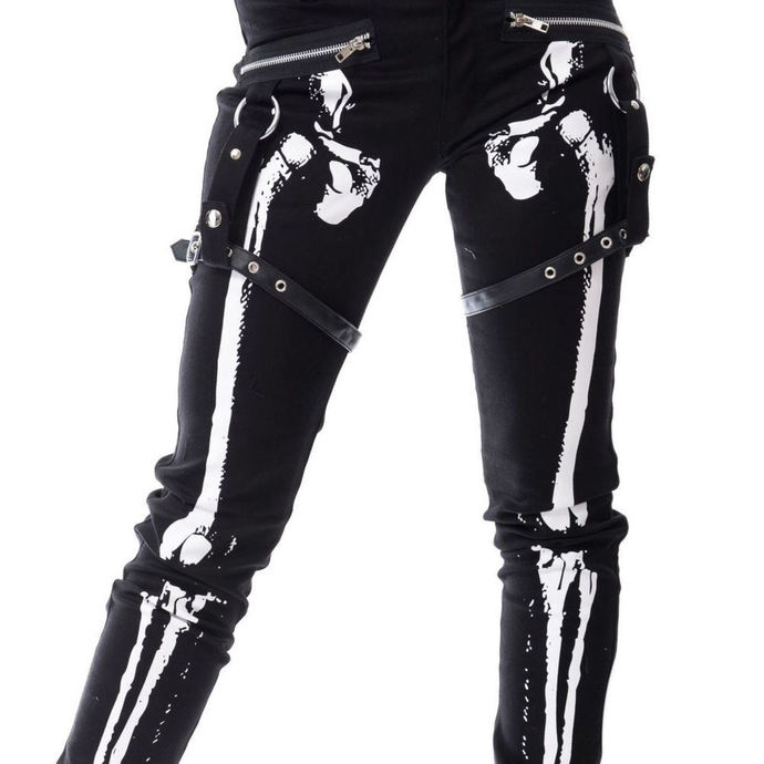 pants women VIXXSIN - X RAY - BLACK
