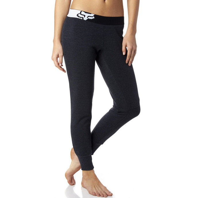 pants women (trackpants) FOX - Certain Pant - Heather Black