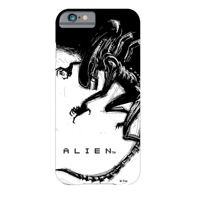 cell phone cover Alien - iPhone 6 Plus Xenomorph Black & White Comic