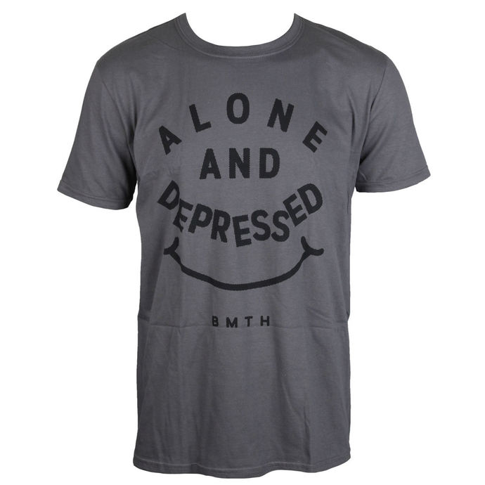 t-shirt metal men's Bring Me The Horizon - Alone And Depressed - ROCK OFF
