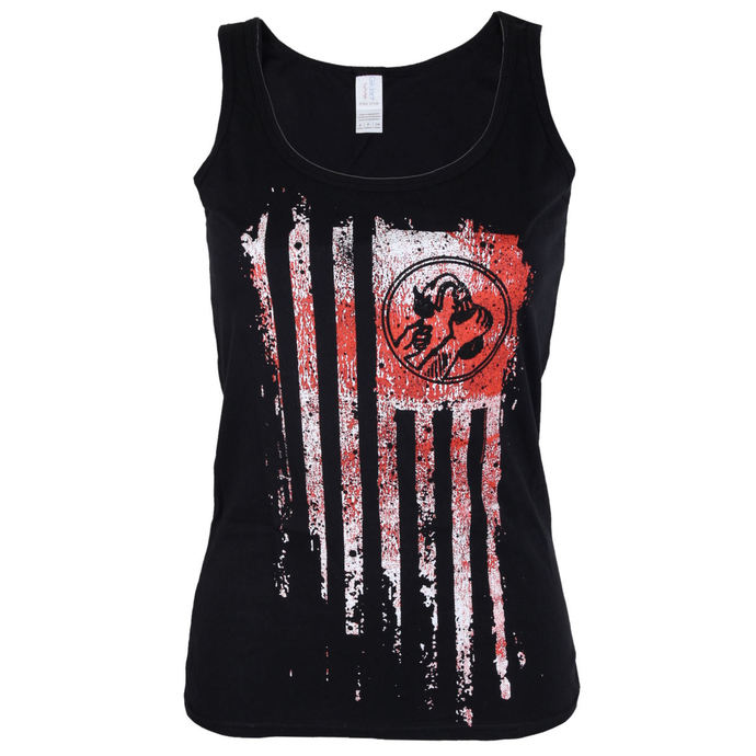 top women Rage Against The Machine - Molotov Flag - Black - ATMOSPHERE