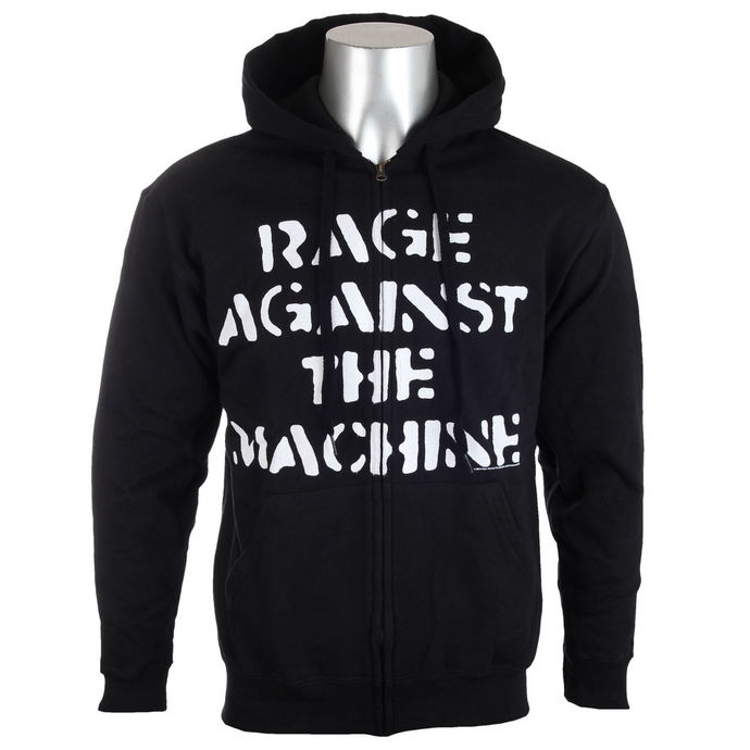 hoodie men's Rage against the machine - Large Fist Black - NNM