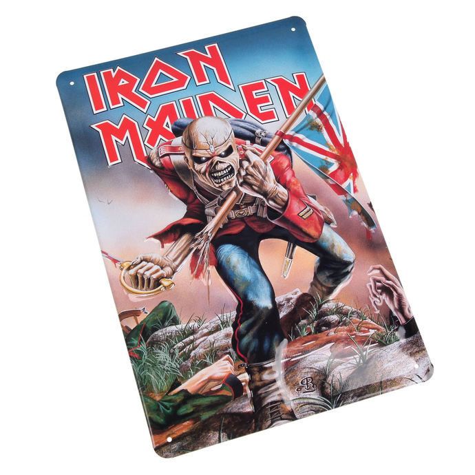 signs Iron Maiden - The Trooper