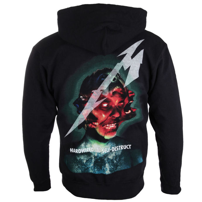 hoodie men's Metallica - Hardwired Album Cover - NNM
