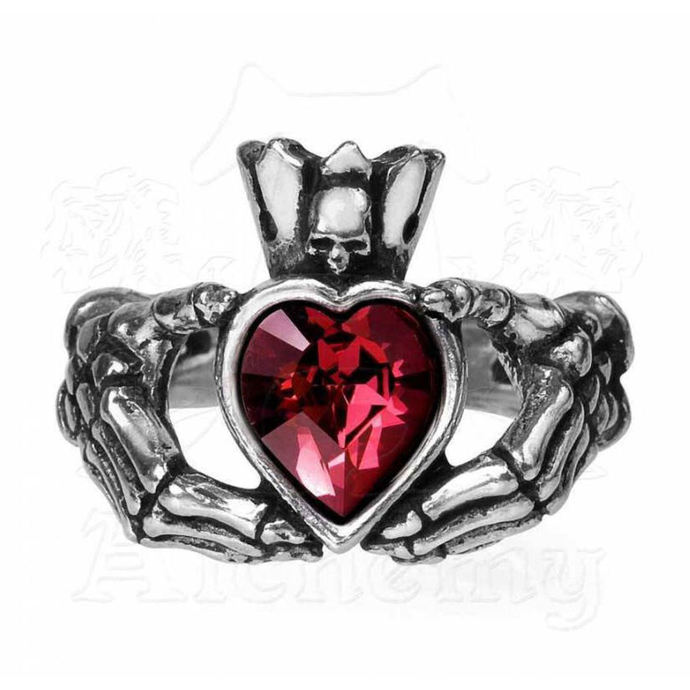 Ring ALCHEMY GOTHIC - Claddagh By Night