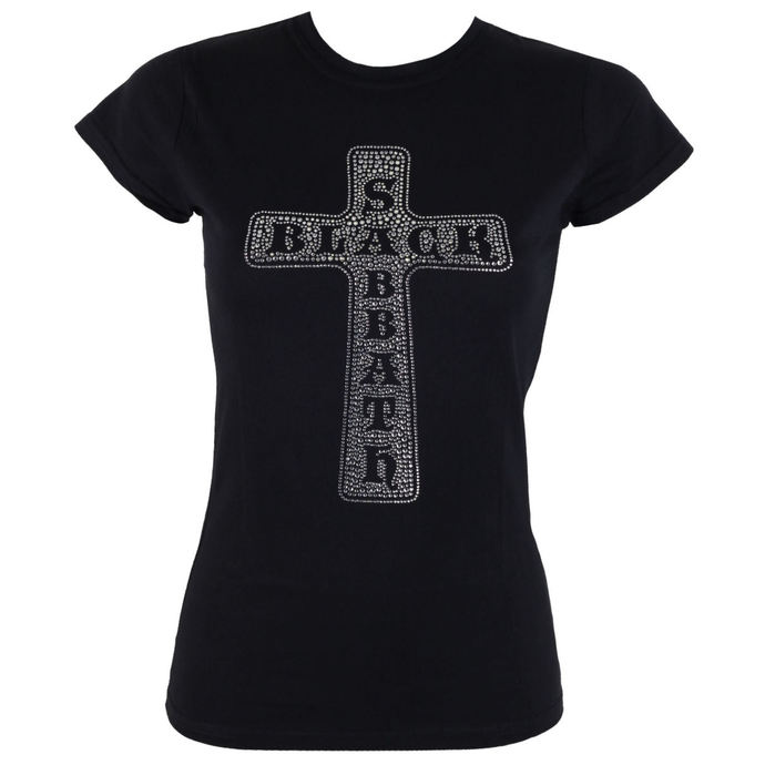t-shirt metal women's Black Sabbath - Cross - ROCK OFF