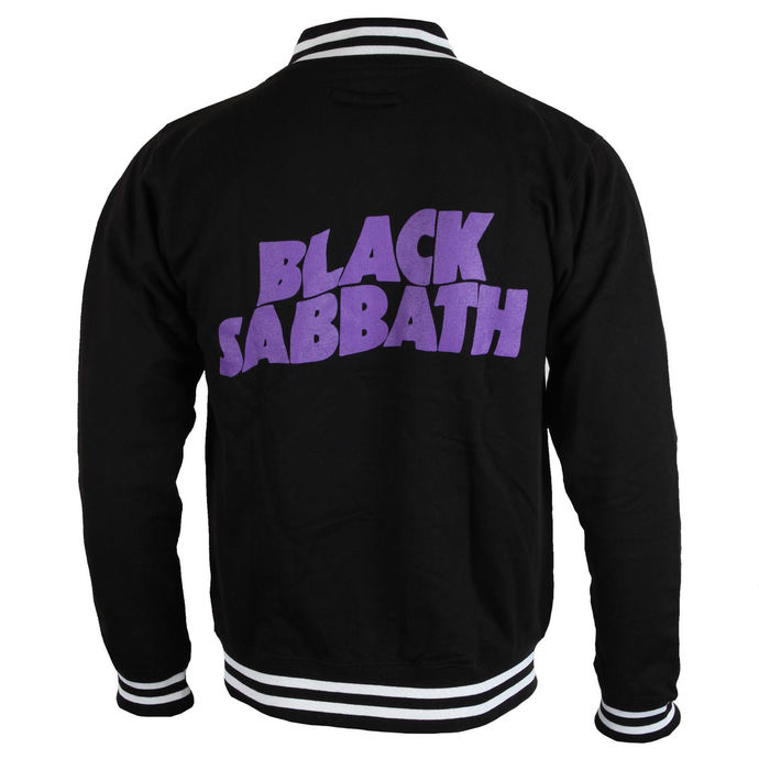 sweatshirt (no hood) men's Black Sabbath - Wavy Logo - ROCK OFF