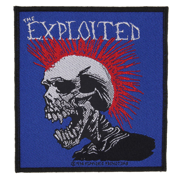 patch THE EXPLOITED - MOHICAN MULTICOLOUR - RAZAMATAZ