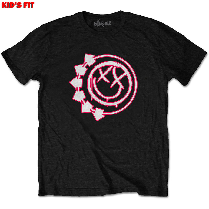 Children's t-shirt Blink 182 - Six Arrow Smiley - ROCK OFF