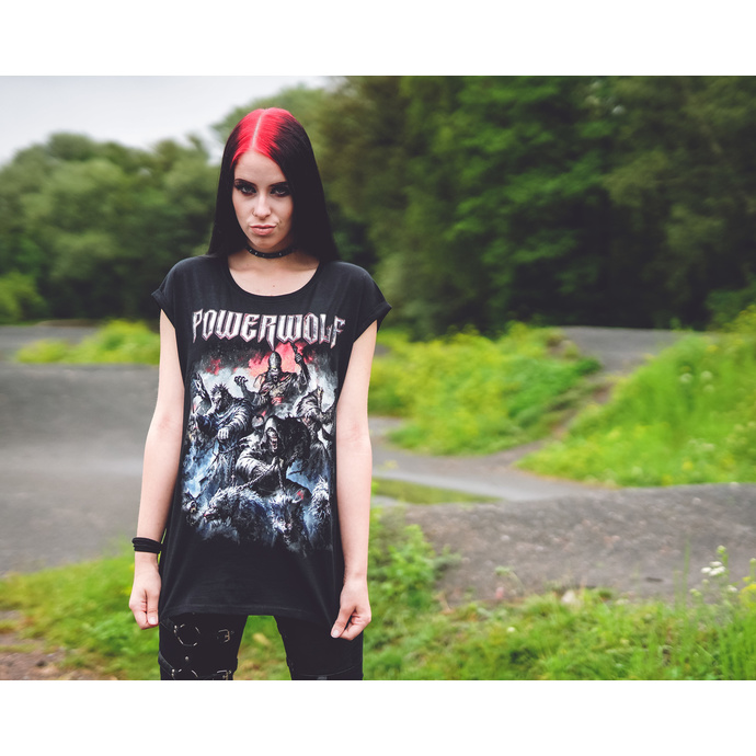 Women's t-shirt POWERWOLF - Best of the blessed - NUCLEAR BLAST