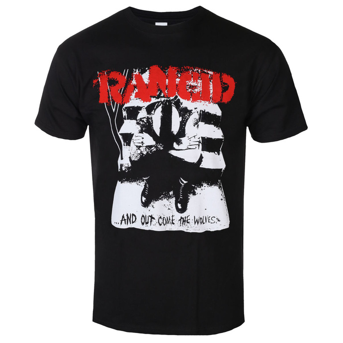 t-shirt metal men's Rancid - And Out Come The Wolves - KINGS ROAD