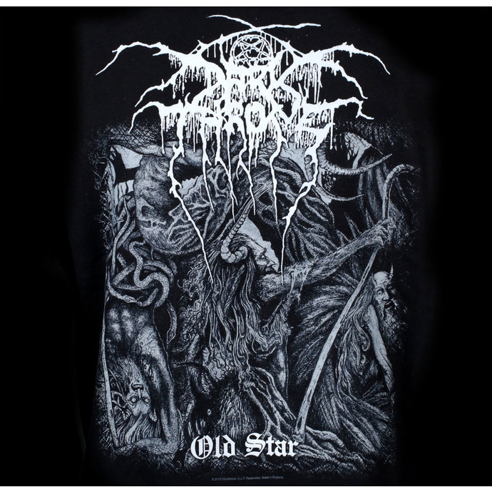 hoodie men's Darkthrone - Old Star - RAZAMATAZ
