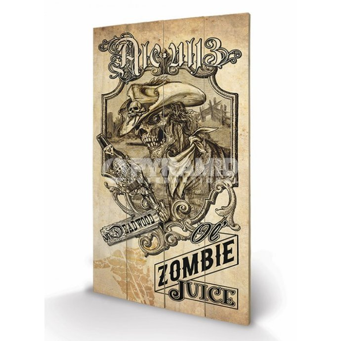 wooden image Alchemy (Zombie Juice) - Pyramid Posters