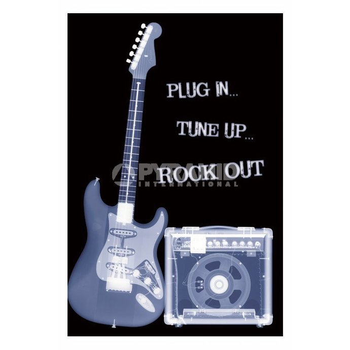 poster Plug In... Tune Up... Rock Out - PP31159