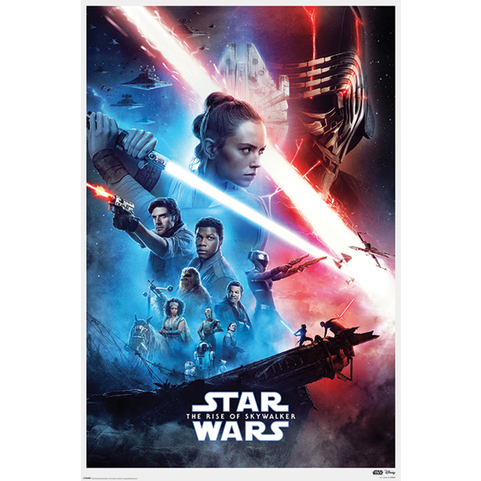 Poster STAR WARS - IX-RISE OF SKYWALKER - PYRAMID POSTERS