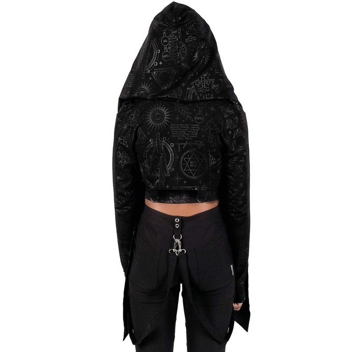 Women's hoodie (cardigan) KILLSTAR - Unholy Sabbath Crop