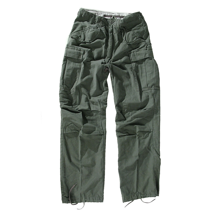 pants men M65 Pant NyCo washed - OLIV