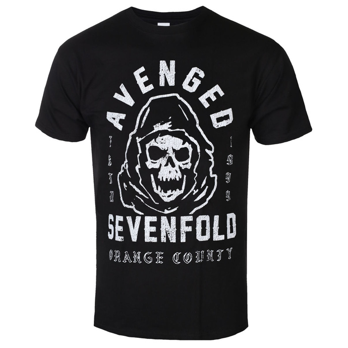 Men's t-shirt Avenged Sevenfold - So Grim Orange - ROCK OFF