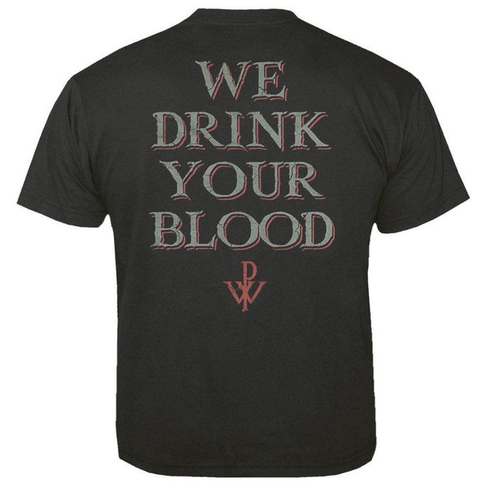 Men's t-shirt POWERWOLF - We drink your blood - NUCLEAR BLAST