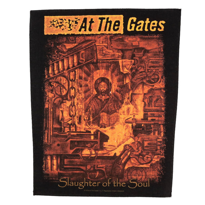 Large patch At The Gates - Slaughter Of The Soul - RAZAMATAZ