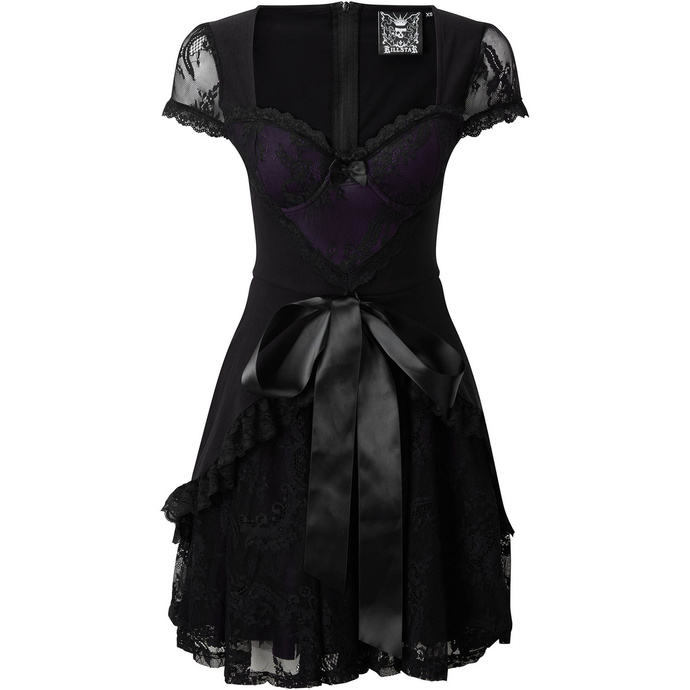 Women's dress KILLSTAR - Hocus Party - PLUM